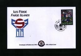 Faroe Islands 2004 100 Years Of FIFA Interesting Cover - Fútbol