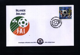 Ireland 2004 100 Years Of FIFA Interesting Cover - Fútbol