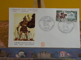 Vercingétorix Roi Des Arvenes (63) Clermont Ferrand - 5.11.1966 FDC 1er Jour N°578 - Coté 2€ - 1960-1969