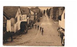 Bastogne Course Des Velos Cyclisme Route De Neufchateau Tres Rare - Bastenaken