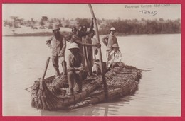 TCHAD - Barques En Papyrus à Bol-Tchad - Tchad