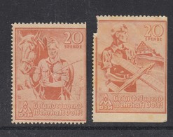 DR Spendenmarken HJ - Weltkrieg 1939-45