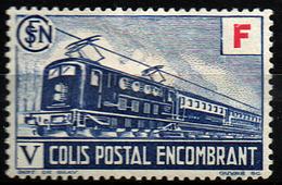 """France Colis Postal YT N°203 Neuf * - Reste De Charnière - """"Colis Encombrant"""" (1943) - Pacchi Postali"""