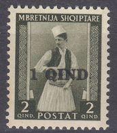 ALBANIA - 1942 - Yvert 280 Nuovo MNH. - Albania