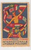 FOIRE INTERNATIONALE A POZNAN POLOGNE 1925 - Commemorative Labels