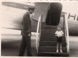 Original Photo Flugzeug - Flughafen - Luftfahrt