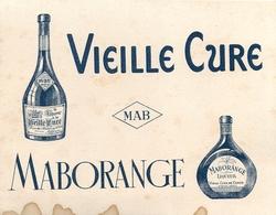 Buvard Ancien LIQUEUR VIEILLE CURE - MABORANGE - Liqueur & Bière