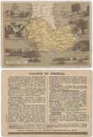 Chromos Librairie Hachette Colonie  Du Sénégal - Chromos