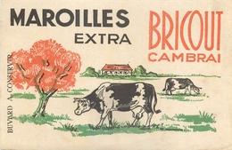 Buvard Ancien MAROILLES EXTRA BRICOUT - CAMBRAI - Produits Laitiers