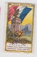 POROPATRIA 1914-1915 - Commemorative Labels