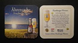 Germany - Flensburger Brauerei - Ährensache / Frisch Vom Fass - Flensburg/Schleswig-Holstein - Col:DE-013765 - Bierdeckel
