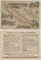 Chromos Librairie Hachette Colonie De La Nouvelle - Calédonie - Chromos