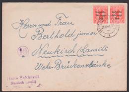 Neukirch (Lausitz) 29.10.48 8 Pf Bären Mit SBZ Aufdruck Als Ortsbrief An Wehr-Brückenschänke, SBZ 202A(2) - Sowjetische Zone (SBZ)
