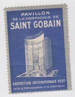 SAINT GOBAIN EXPOSITION UNIVERSELLE 1937 - Commemorative Labels