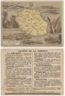 Chromos Librairie Hachette Colonie De La Réunion - Chromos
