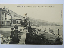 Cpa - Monte Carlo - Les Terrasses Du Casino - Monte-Carlo