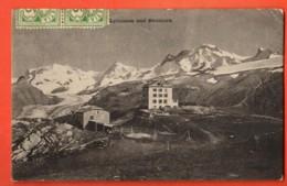 VAQ-37 Souvenir Gornergrat  Lyskamm Und Breithorn. Gelaufen In 1906 - VS Valais