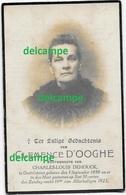 Doodsprentje Clemence D'Ooghe Oostvleteren 1850 En Aldaar Overleden 1923 Dehouck Charles Bidprentje - Devotieprenten