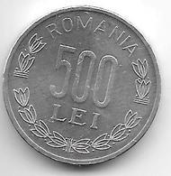 Romania 500 Lei  1999 Km 145 Xf+ - Roumanie