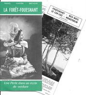 29- LA FORET FOUESNANT  - DEPLIANT GUIDE TOURISTIQUE - La Forêt-Fouesnant