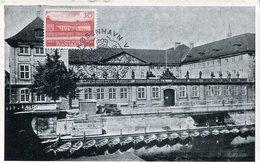 41703 Danmark, Maximum  1957  National Museum,   Architecture - Cartoline Maximum