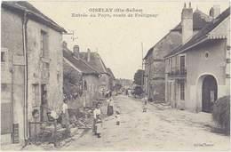 Cpa 70 – Oiselay – Entrée Du Pays, Route De Frétigney - France
