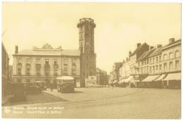 Menen : Grote Markt En Belfort - Menen