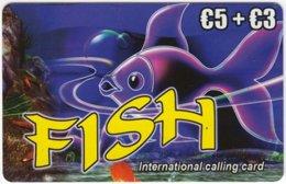 AUSTRIA E-189 Prepaid Lycatel - Drawing, Animal, Sea Life, Fish - Used - Autriche