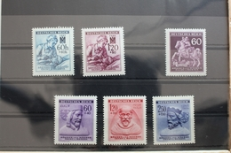 Böhmen Und Mähren 111-112, 113, 114-116 ** Postfrisch #RZ037 - Bohemia & Moravia