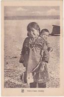 Lot De 7 CPA - Mission De Mary's Igloo (Alaska) - Esquimaux, Renne, Maison, Etc... - Postcards