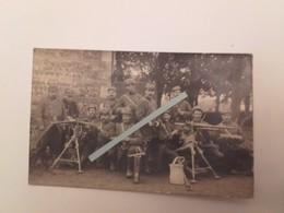 1914 Le Havre 129 Eme Régiment D'infanterie Peleton Mitrailleuse Hotchkiss Tranchée Poilus Ww1 1WK 1914 1918 14-18 - War, Military