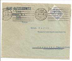 Latvija.Riga B. Machine Cancellation Type 13B 18.X.26 - Latvia