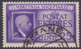 ALBANIA - 1940 - Yvert 271 Usato, Espresso. - Albania