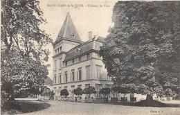 CPA 38 ST CLAIR DE LA TOUR CHATEAU DE VION - Autres Communes