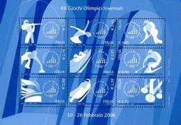 Italia Repubblica 2006 Foglietto N. 45 Giochi Olimpici Invernali - 6. 1946-.. Repubblica