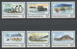 ROSS 1982  N° 15/20 ** Neufs MNH Superbes Base Scott Oiseaux Manchots Station Vanda Véhicule Polaire - Dépendance De Ross (Nouvelle Zélande)