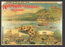 Namur / Namur S/Meuse - Affiche De Louis Titz - Chemins De Fer De L'état Belge - état Neuf - Namur