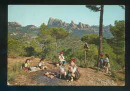 *Catalunya Típica. Costellada* Sin Datos Nº 3. Circulada 1966. - Escenas & Paisajes