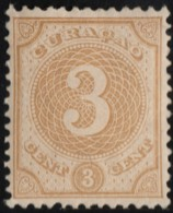 ~~~  Curacao 1889/1891 - Numerals - NVPH 16 MNH OG ** CV 35.00 Euro  ~~~ - Curacao, Netherlands Antilles, Aruba