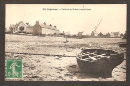 Pas Courant - 956 - Argenton ( 29 Finistère) - Partie De La Grève à Marée Basse ( Postée En 1916 ) - France