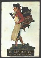 Liège - Le Marchand De Moutarde, Enseigne En Tôle Peinte D'un Magasin Liégeois - Musée De La Vie Wallonne - Liege