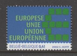 TIMBRE NEUF DE BELGIQUE - UNION EUROPEENNE N° Y&T 3112 - Institutions Européennes