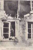 55  NANCY. GUERRE 14-18 .RUE DE QUATRE EGLISES. BOMBARDEMENT DES 9 ET 10 SEPTEMBRE DE L'EPICERIE JOLIVALD .ANNEE 1914 - War 1914-18