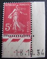 DF50478/131 - 1932 - TYPE SEMEUSE N°278B NEUF** CdF Daté - France