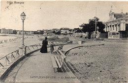SAINT JEAN DE LUZ - L Rond Point Et La Plage - Cachet Ambulant  (111333) - Saint Jean De Luz