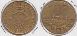 Costa Rica 100 Colones 1998 KM#230a - Used - Costa Rica