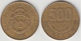 Costa Rica 500 Colones 2003 KM#239.1 - Used - Costa Rica