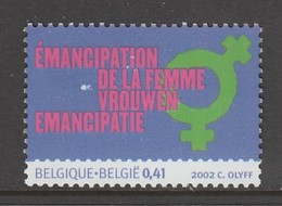 TIMBRE NEUF DE BELGIQUE - EMANCIPATION DE LA FEMME N° Y&T 3115 - Timbres