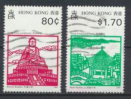 °°° HONG KONG - Y&T N°665/66 - 1991 °°° - 1997-... Región Administrativa Especial De China