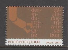 TIMBRE NEUF DE BELGIQUE - DESINDUSTRIALISATION N° Y&T 3116 - Usines & Industries